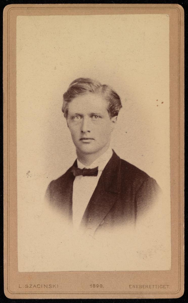 Portrett av Hans Christian Christensen.