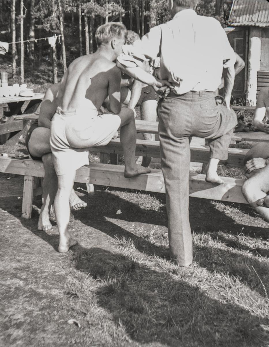 Sporting at the Ruudhytta cabin