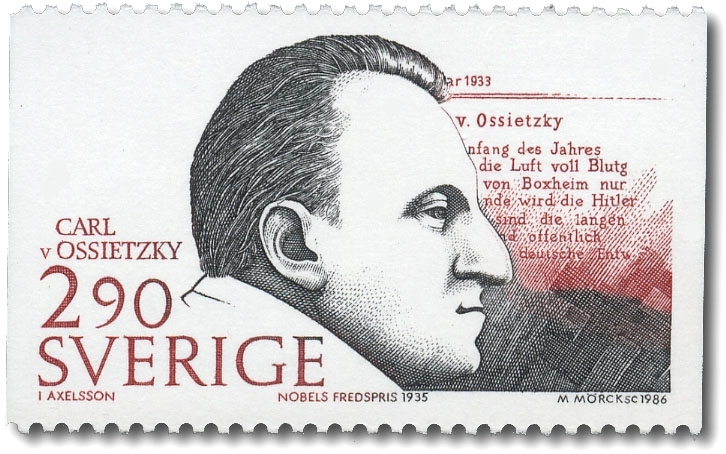 Carl von Ossietzky, Tyskland