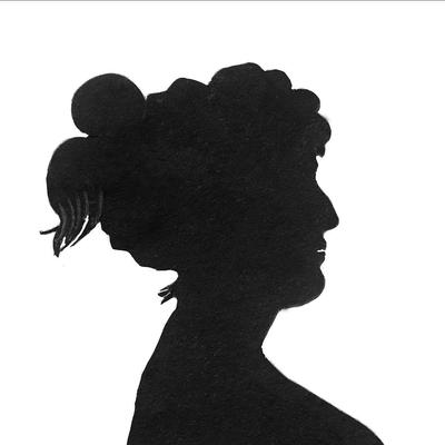 Silhuett kvinne