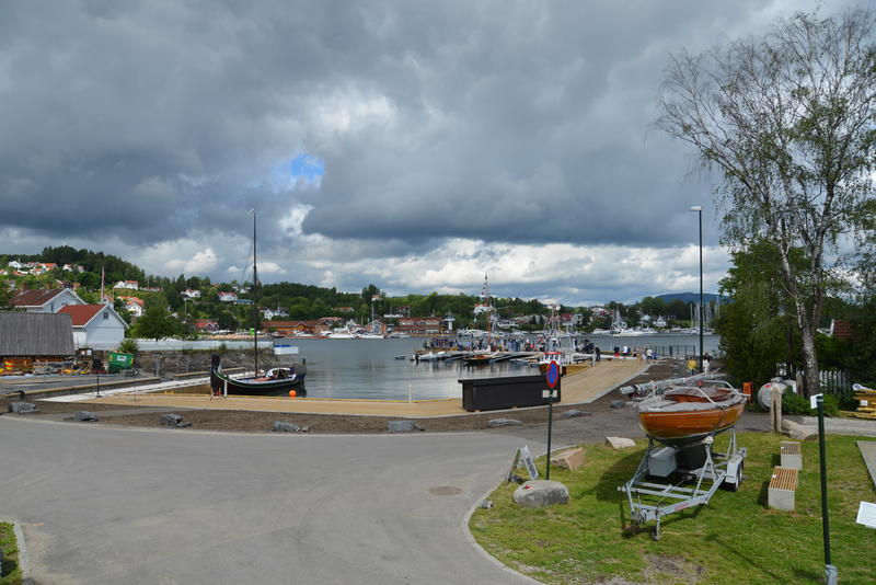 Museumshavnen på åpningsdagen. Foto: Oslofjordmuseet (Foto/Photo)