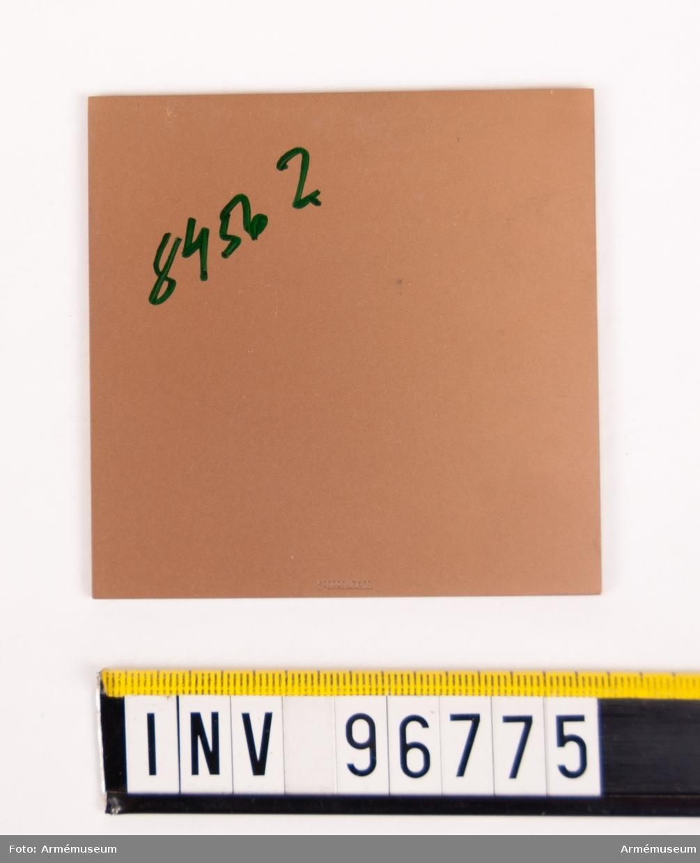 Plakett i brons för SWED BN 40 C Cypern 1968.