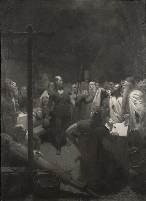Balders bål  (ur Frithiofs saga)