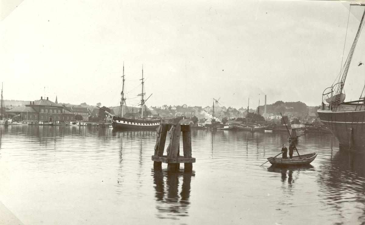 Byggd i Kalmar 1801? Upphuggen 1938. Foto:Svendborgs hamn