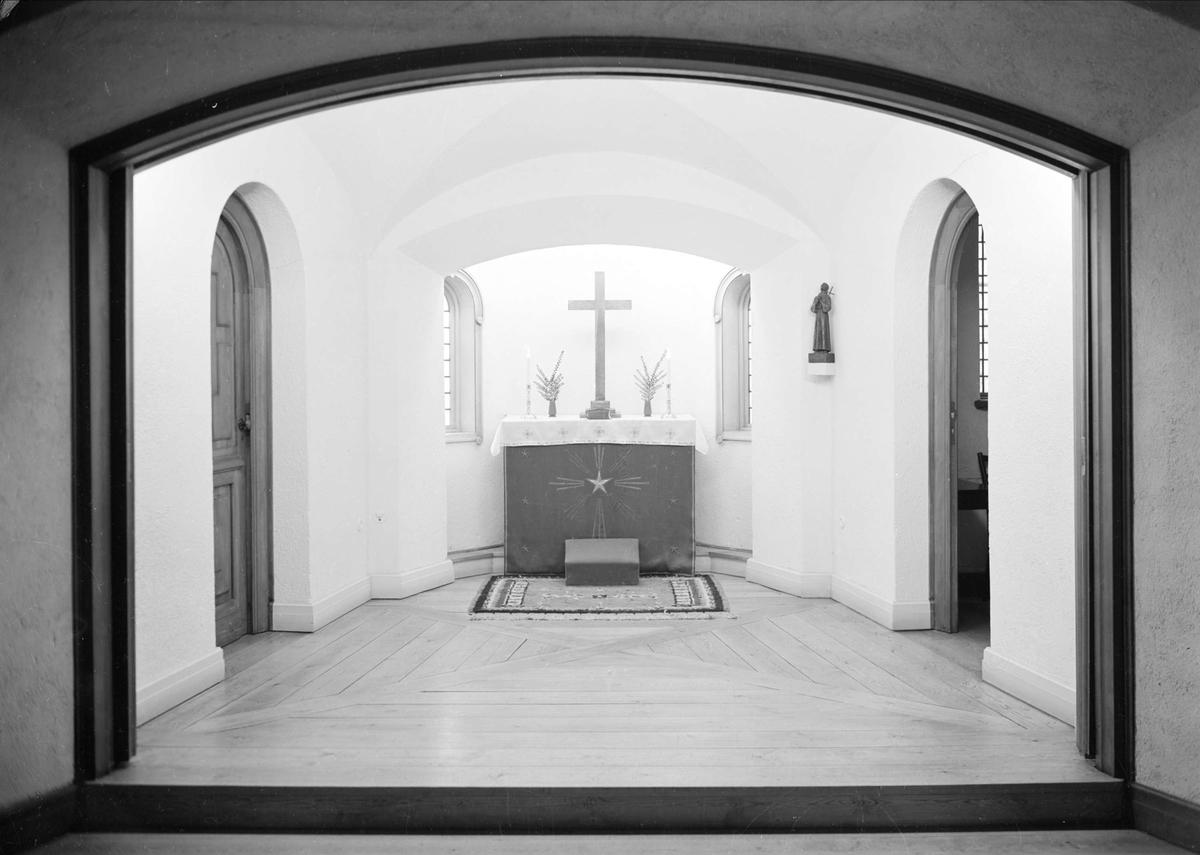 Kapell, Sjuksköterskehemmet, Samariterhemmet, Uppsala 1939