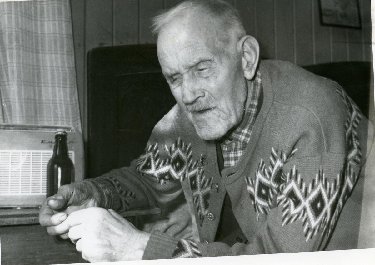 Portrett av Vegger Høneren fra Begnadalen.