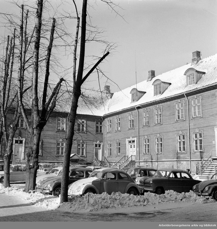 Empirekvartalet (Akersgt. 44).skal rives.Mars 1962