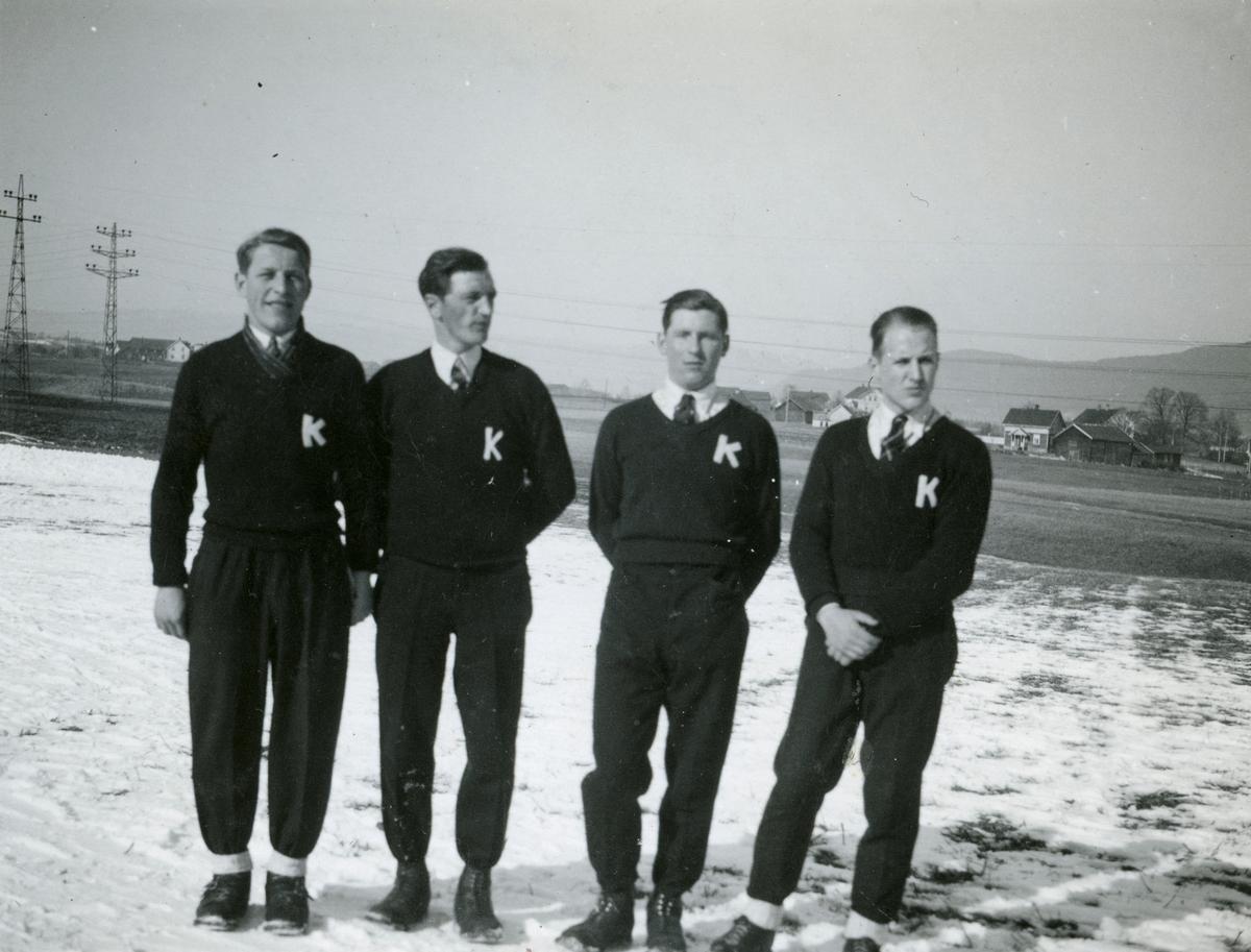 Four KIF-skiers