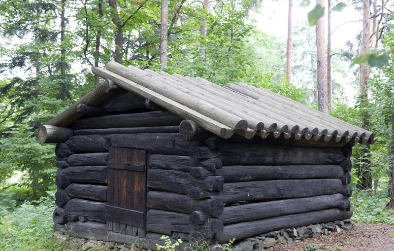Tømmerkoie fra Åmot