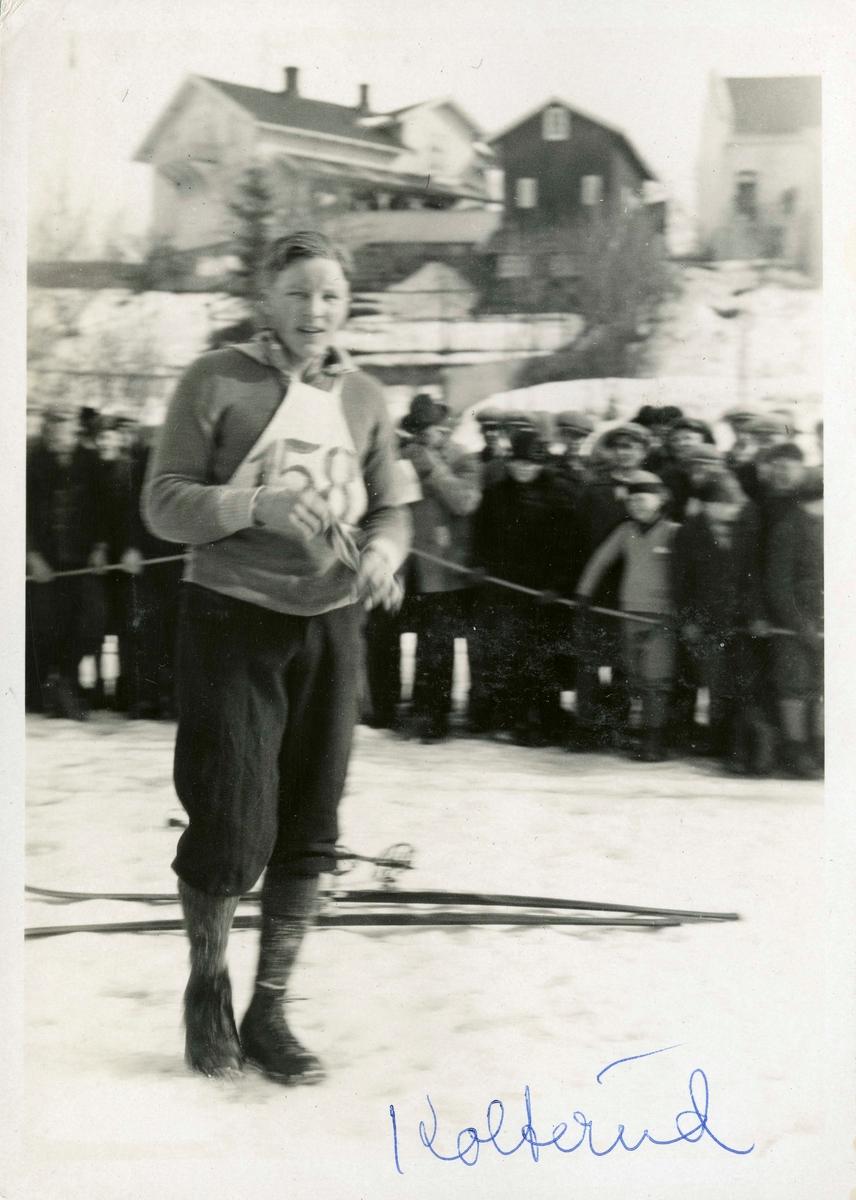 Kongsberg skier Sverre Kolterud