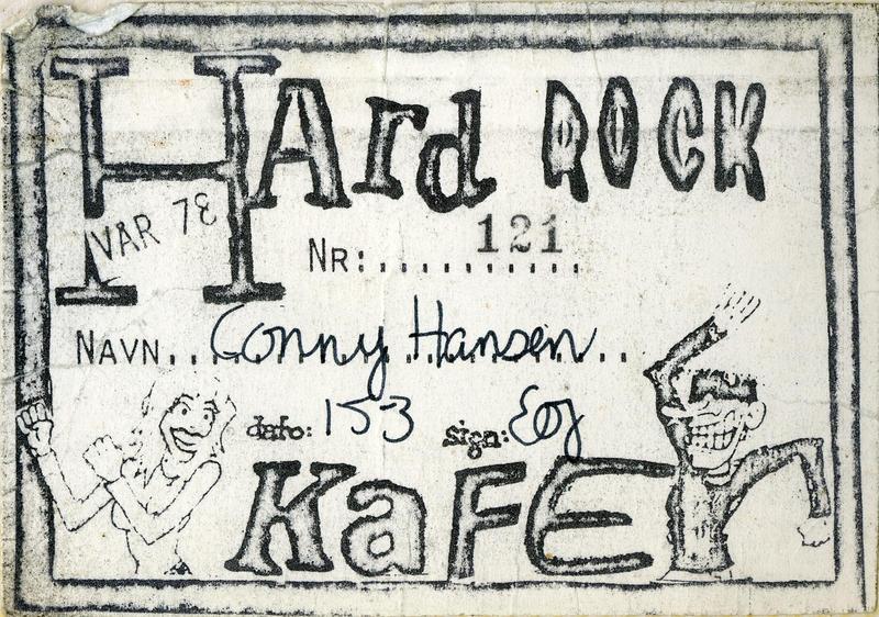 Medlemskort - Hard Rock Kafé