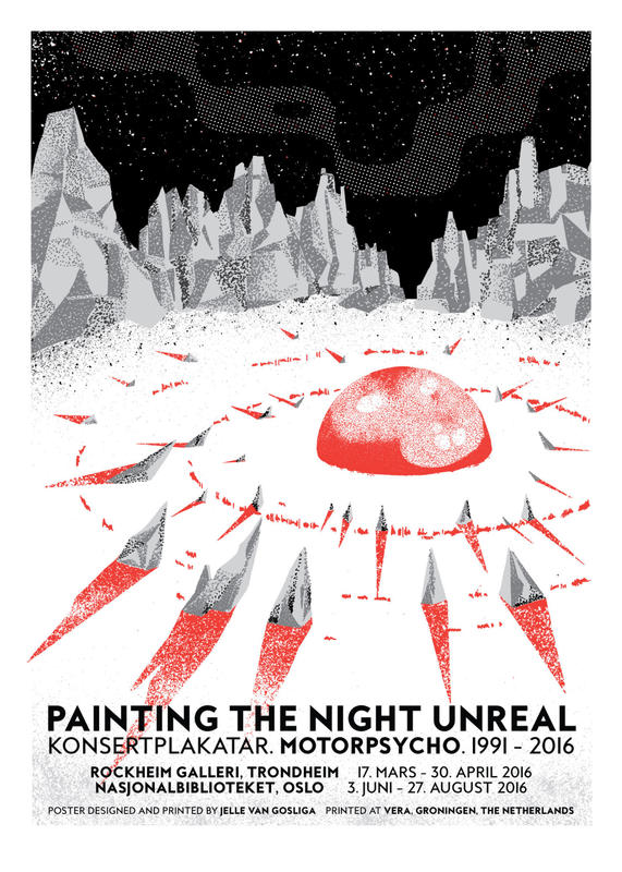 Painting the Night Unreal - plakat
