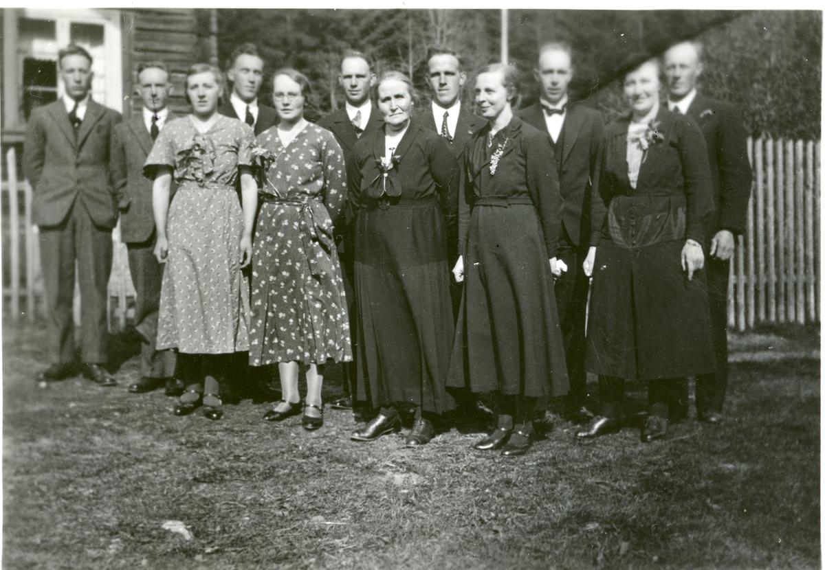 Familien i Nordre Leite.