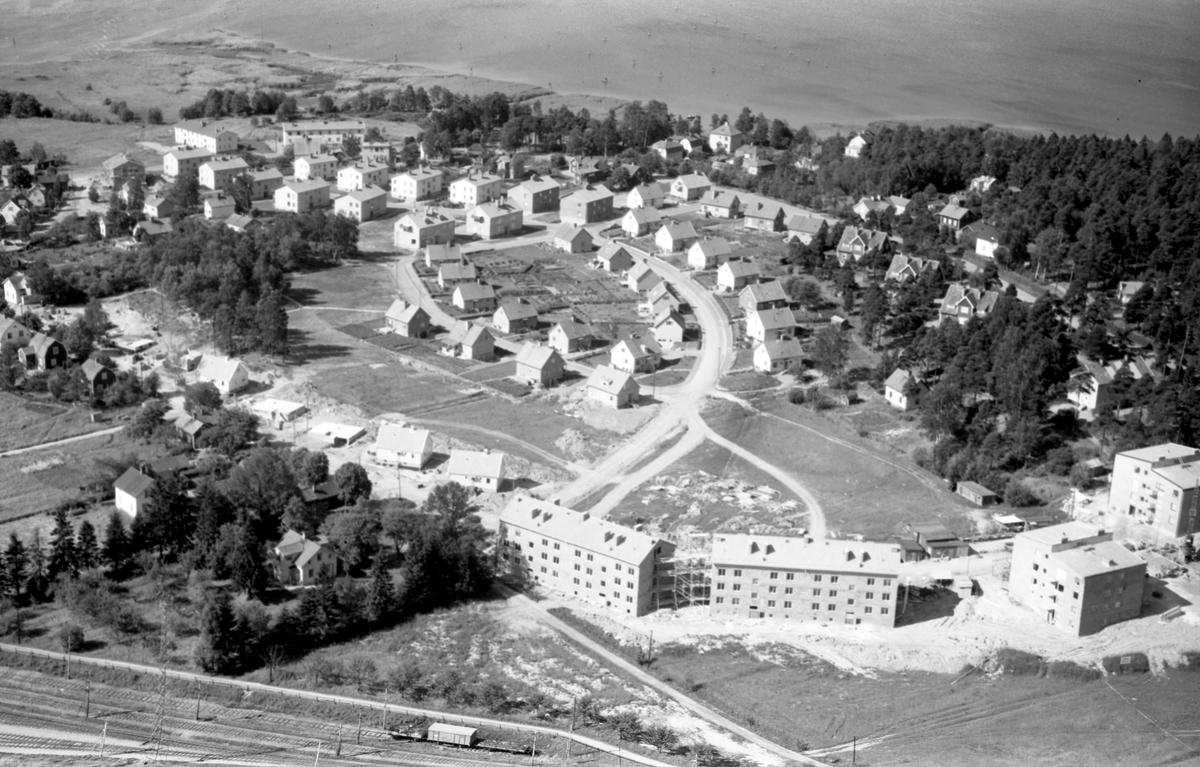 Värmland från luften 1956: Kristinehamn, Stenfallet