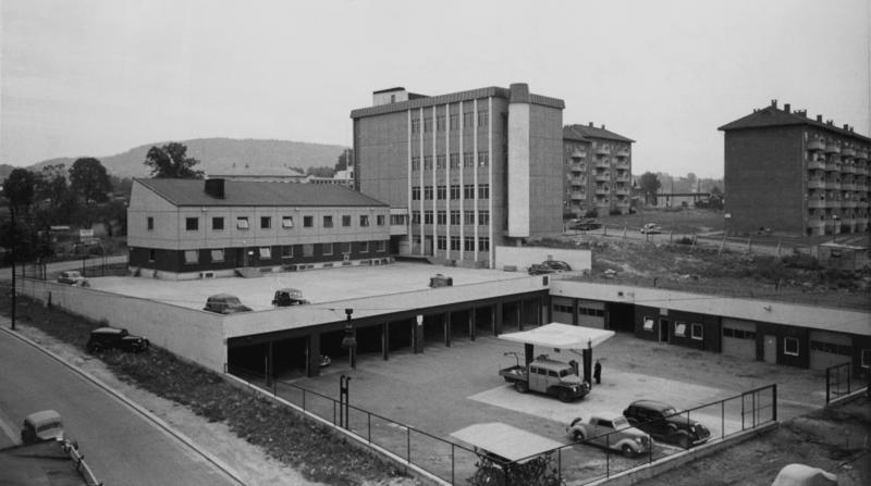 Bilde av bygningen som er tilknyttet Åsen sentral (Foto/Photo)