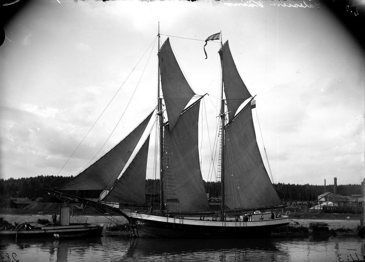 Segelfartyg. Fotograf: E.Sörman