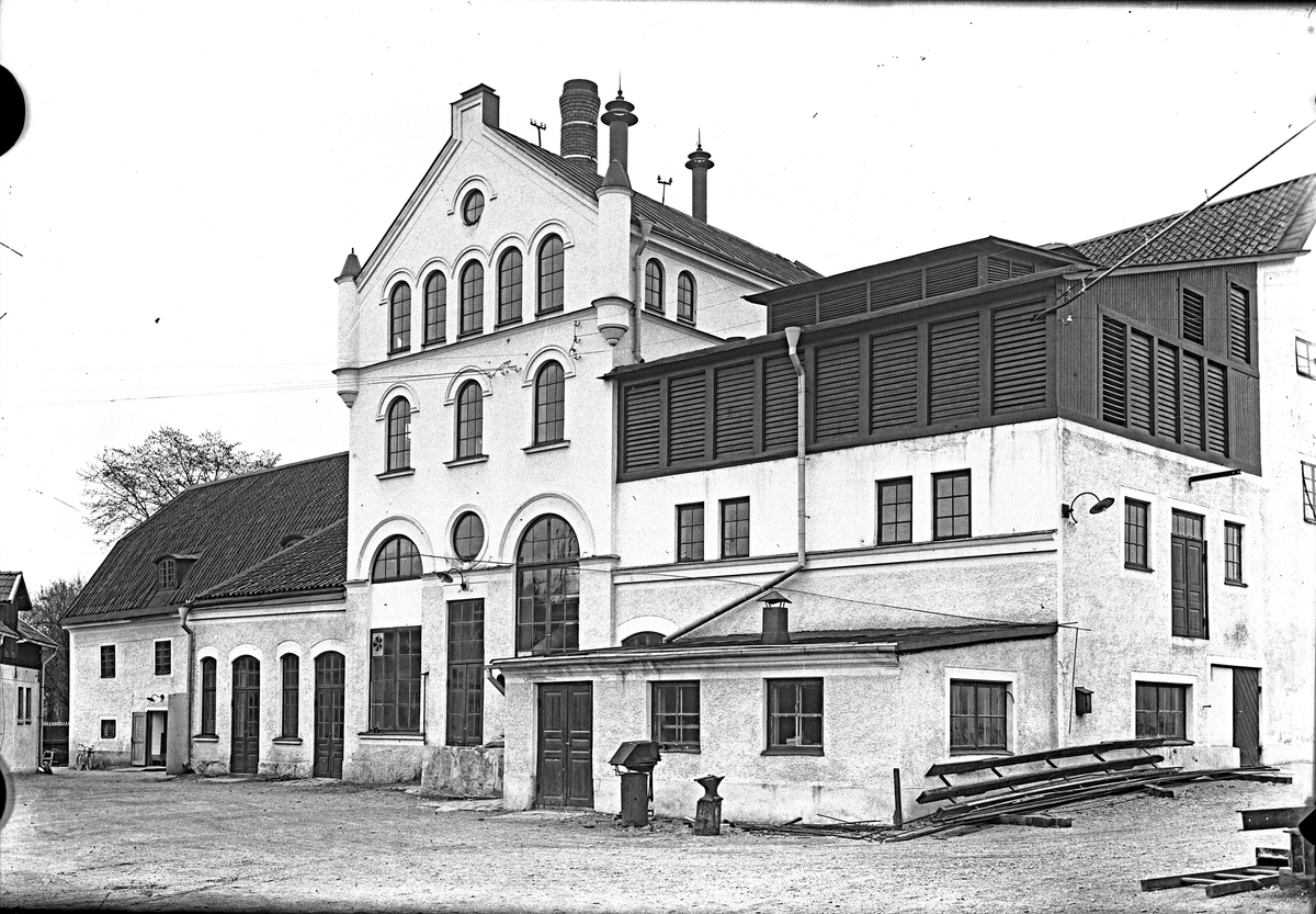 Köpings bryggeri 1933. Fotograf E Sörman.