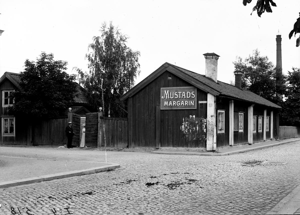 Josefssonska gården vid Glasgatan / Esplanaden.