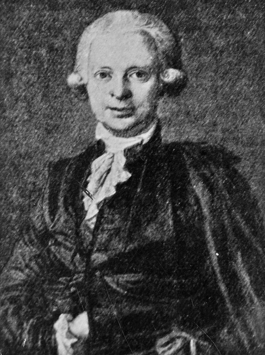 Målning avJakob Fredrik Neikter, 1700-talet.