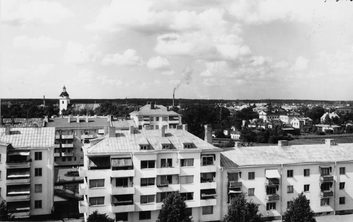 Gävle, utsikt mot norra stadsdelen.
