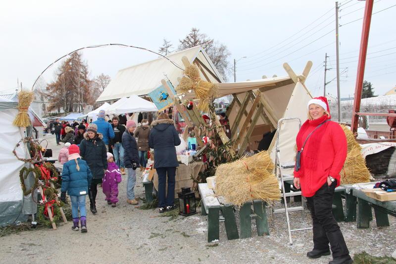 Julemarked på Fetsund lenser