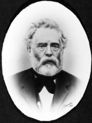 KJøpmann A. Steen, portrett.