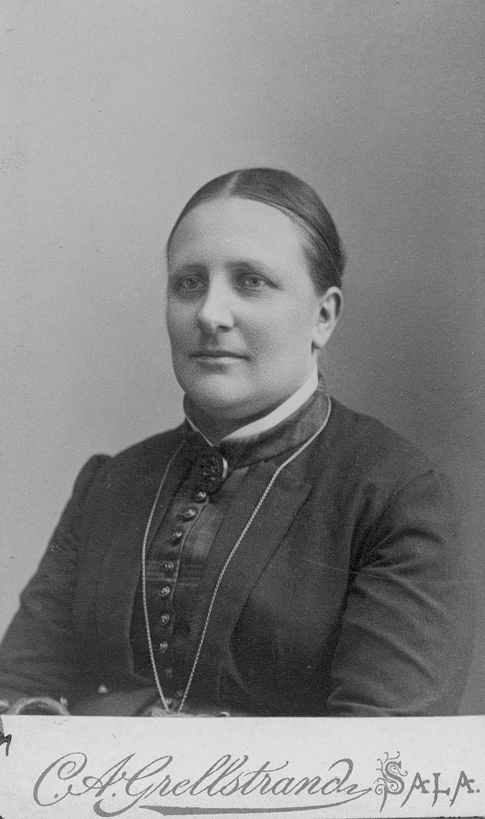 Ebba Ewerlöf, född Pagander.