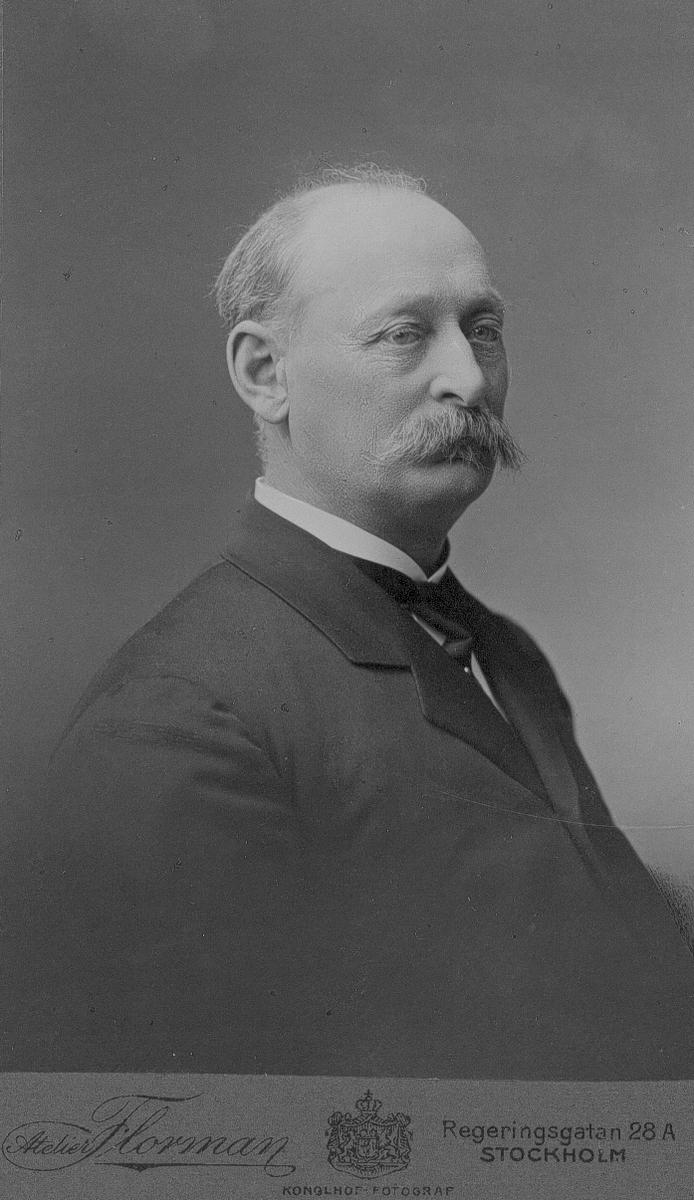 Brukspatron August Lundeberg.