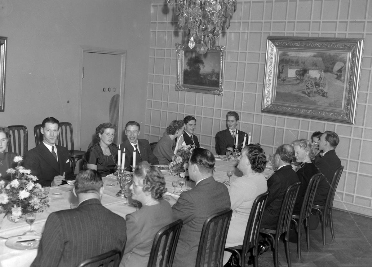 Järnhardt och C:o, jubileumfestlighet. December 1950