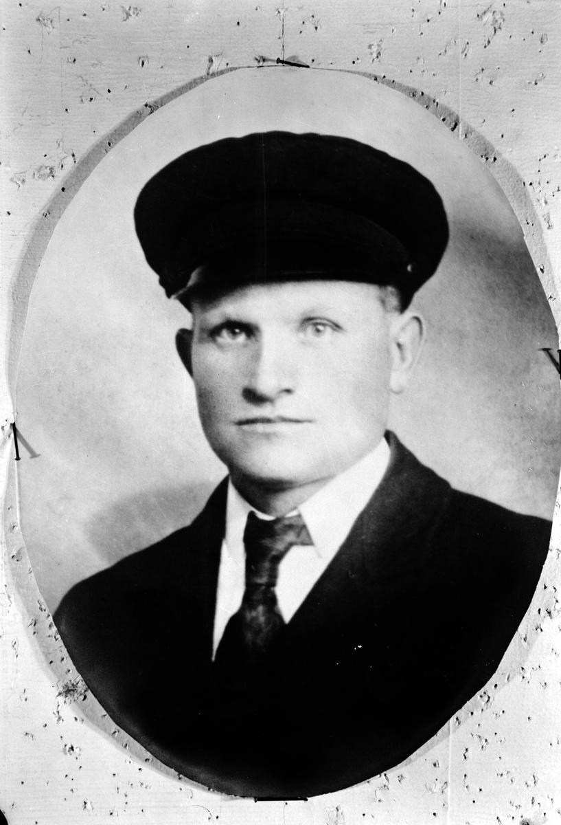 Okänd man. Repro. den 2 november 1974 Håkan Eriksson, Profilen