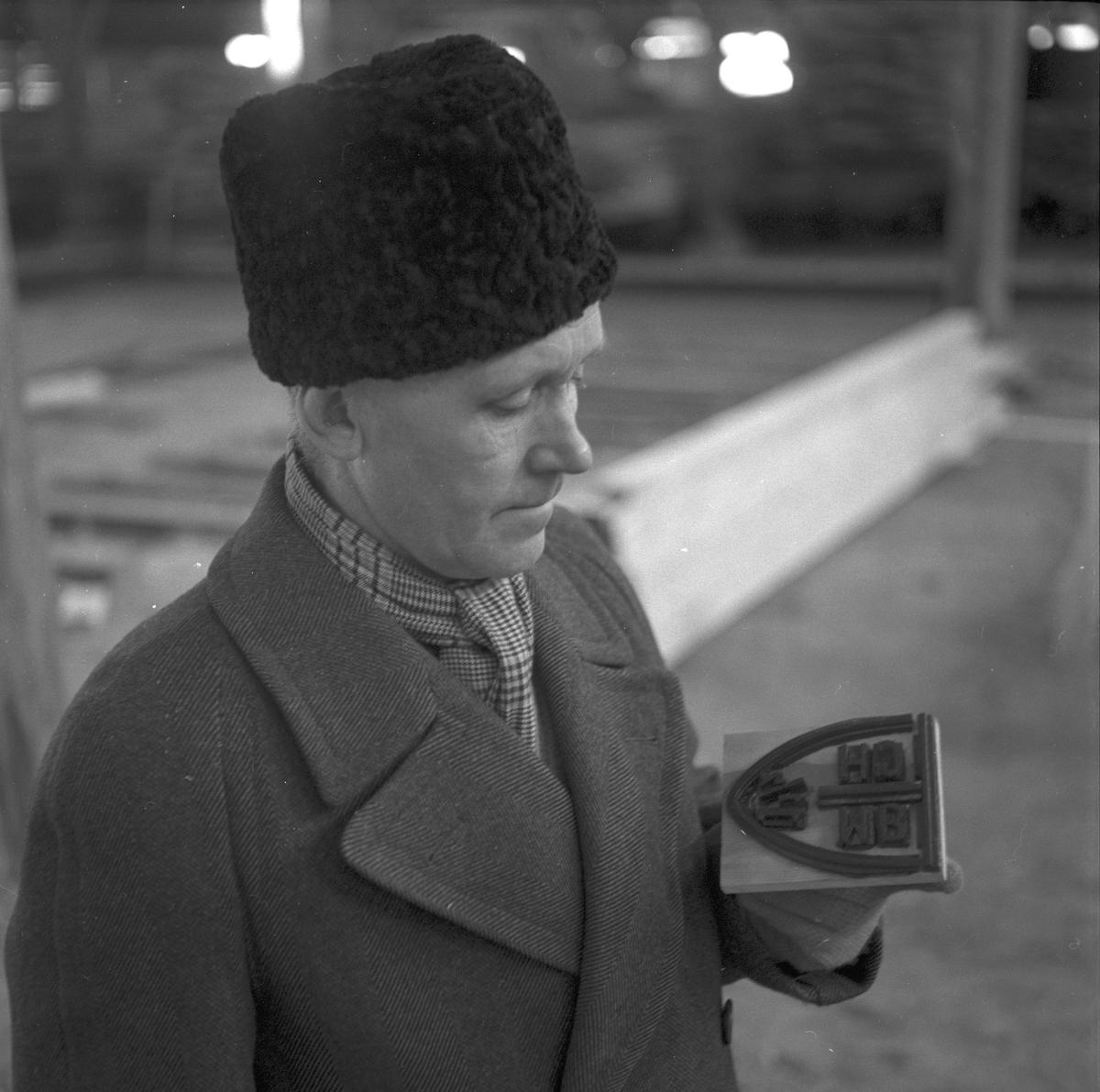 Korsnäsverken kurs för sorterare i Karskär. Den 15 mars 1949.
