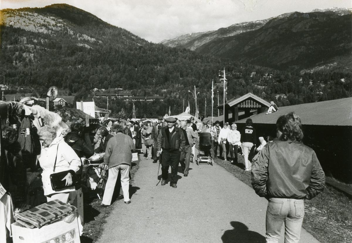 Handelsgate på Dyrskuplassen.