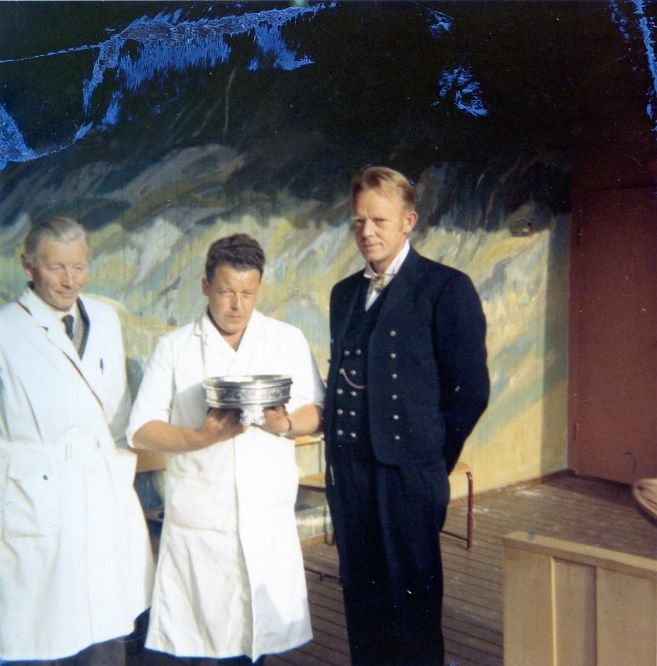 Utdeling av Seljordprisen 1971.