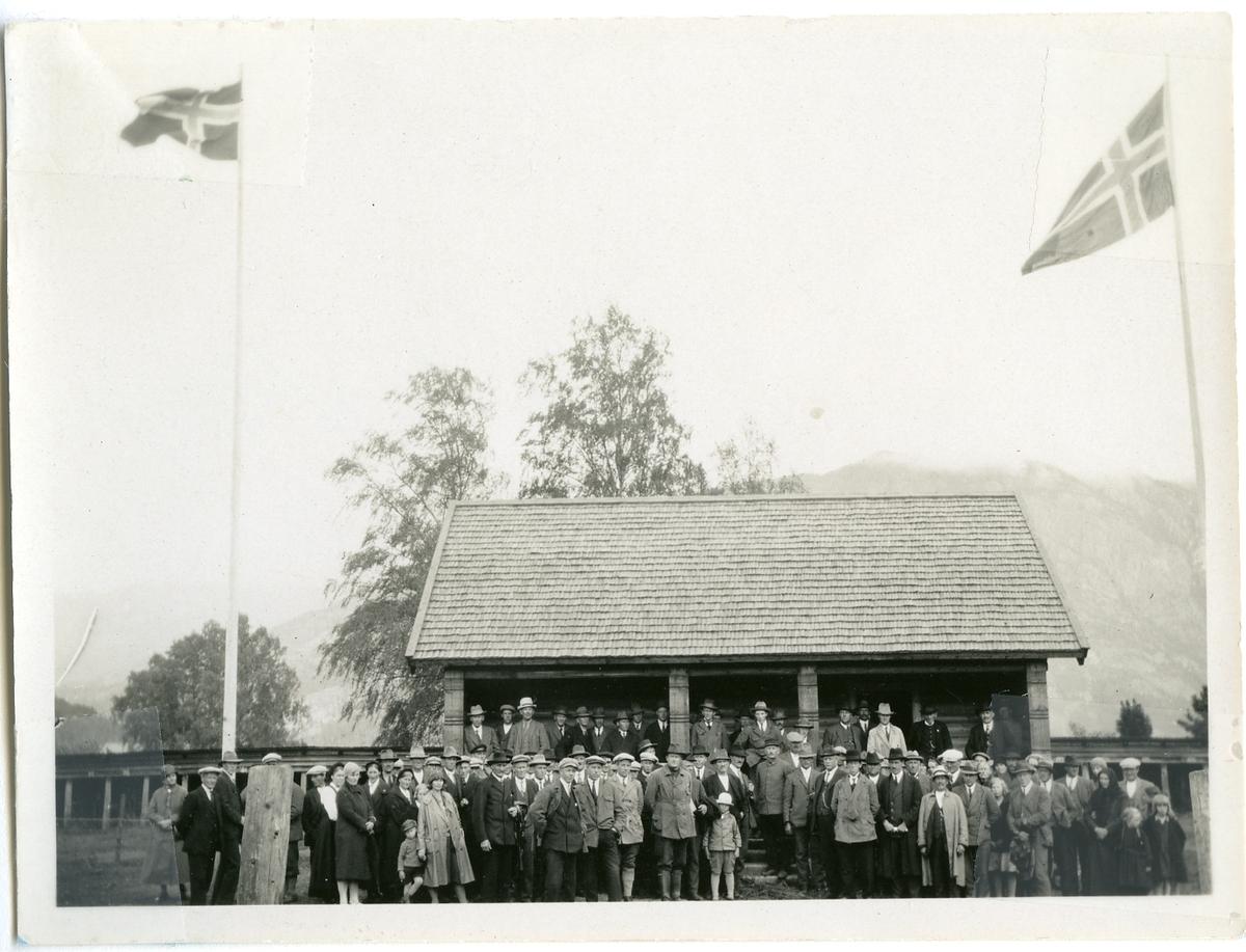 Den nye dommarhuset i 1930.