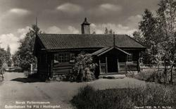 Postkort. Gulsvikstuen fra Flå i Hallingdal. Hallingdalstune