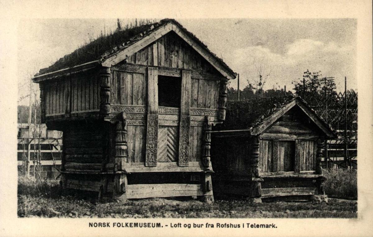 Postkort, Telemarkstunet, NF.