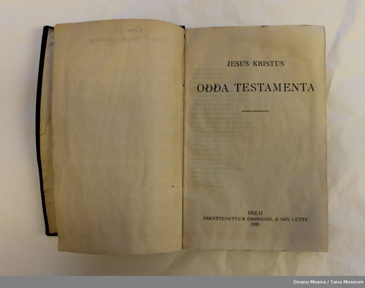 Ođđa testamenta