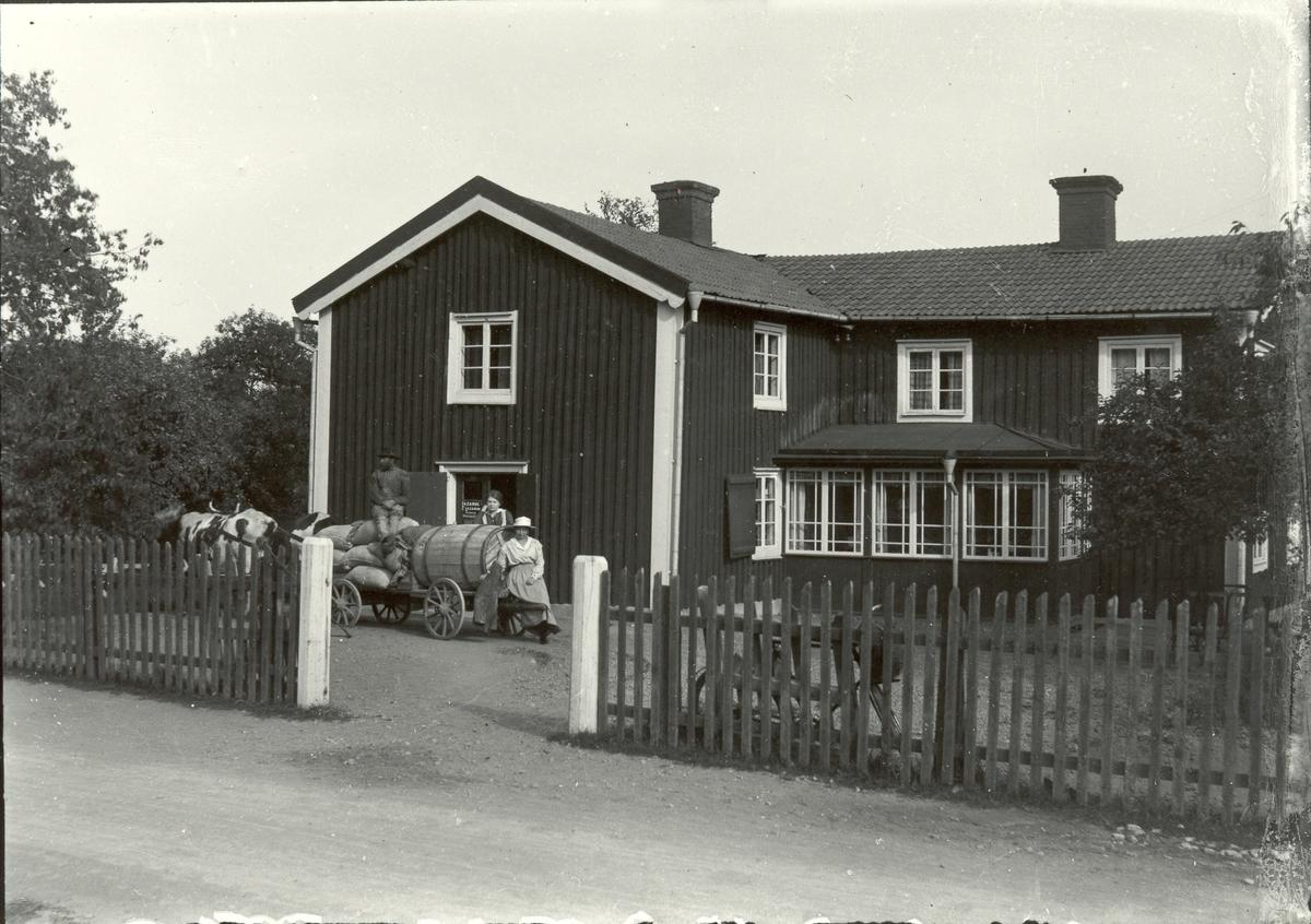 Lanthandeln i Kulla 1917.