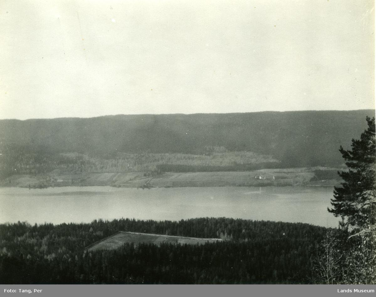 Randsfjorden sett fra Halmrastskardet