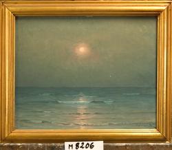 Early Moonlake, Michigan (Early Moon, Lake Michigan ?) [Olje