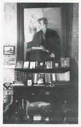"Fotografi av maleriet ""Edvard Munch"" av Asta Nørregard"