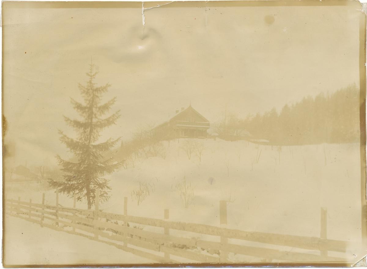 Asker museum sett fra Gamleveien (nå: Otto Valstads vei)
