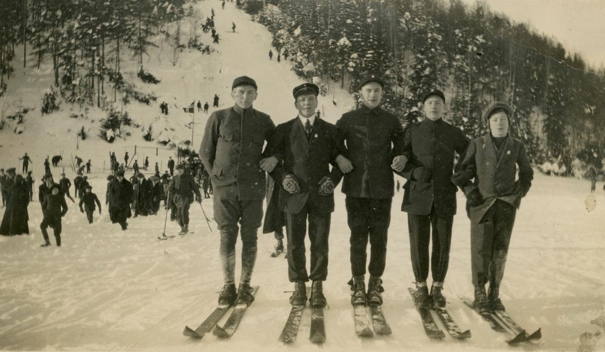Ski jumping at Skotselv