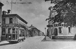 Södra Kungsgatan mot Gavleån.