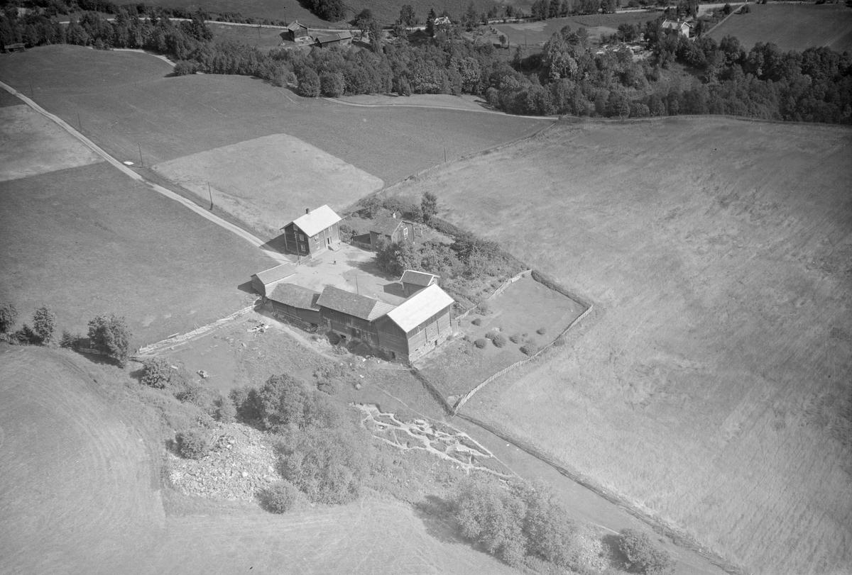 Grimstad gård, Follebu, Gausdal, åkrer, slåttemark, rydningsrøys