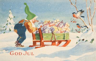 Julekort fra 2. verdenskrig