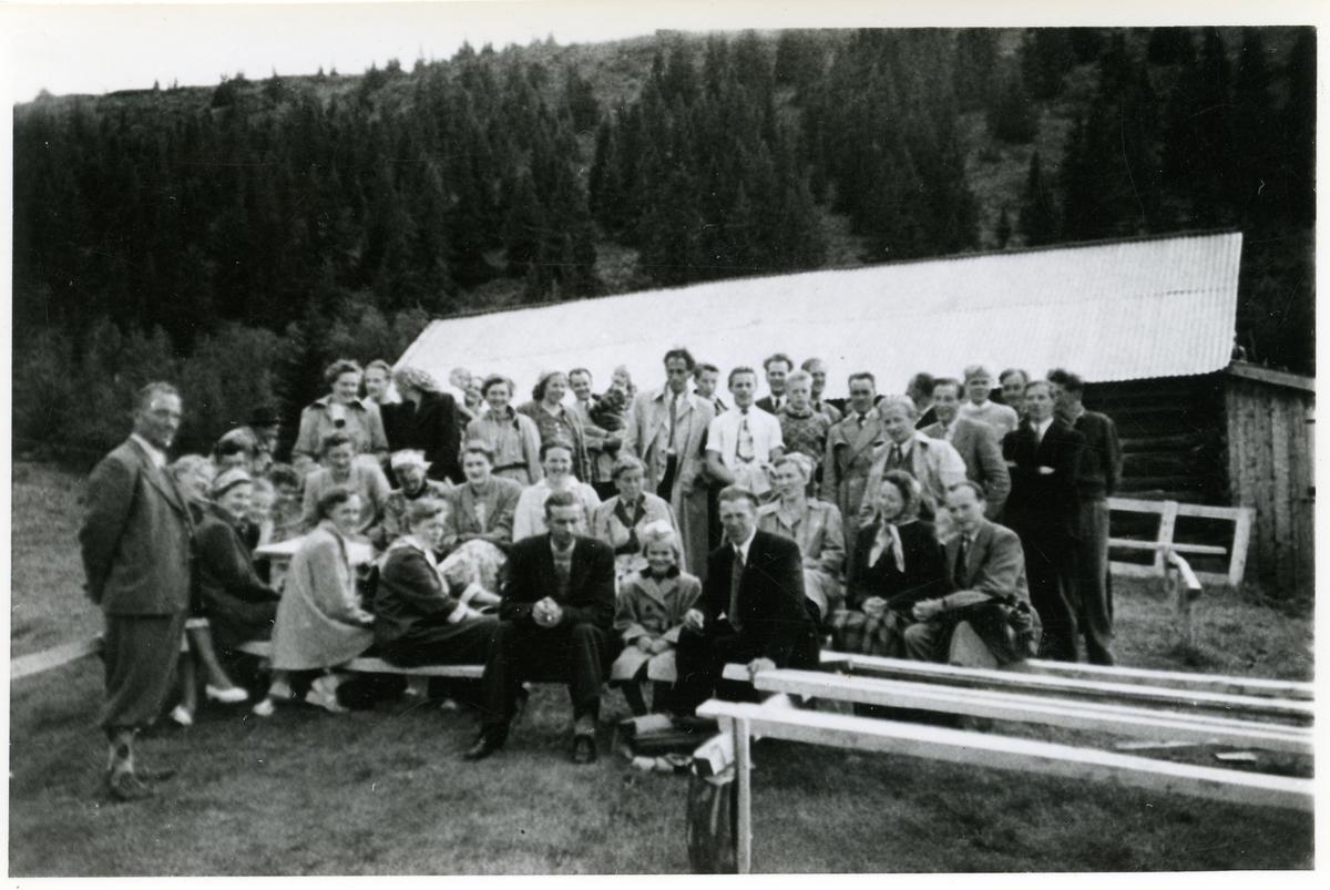 Stemne på Liaåsen 1956.