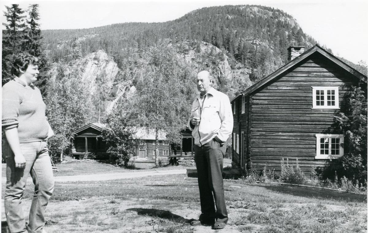 Gunhild Trettebråten og Erik Lineikro.