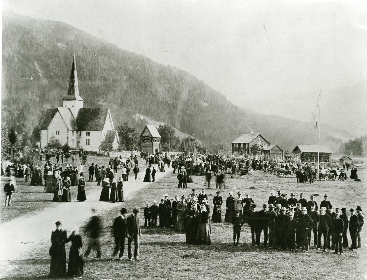 Bangsmoen, fesjå 1898.