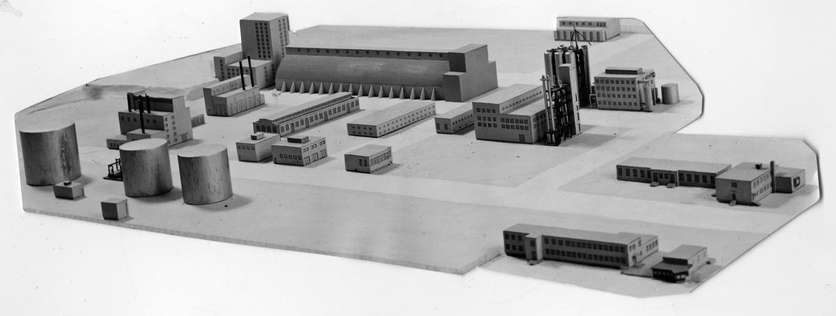 Modell av Sv. Salpeterverken